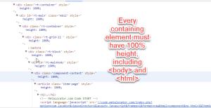100% height responsive layout | MetaLocator Help Center